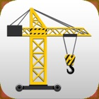 Tower Crane 3D icon