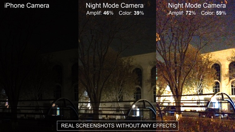 "Night Vision"" (Photos and Videos in low light)"
