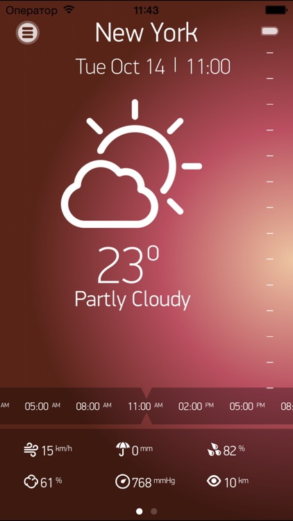 Weather Book Pro for iPhone screenshot-0