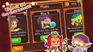 Magic Match - Matching Puzzle Game with Mage Characters screenshot three
