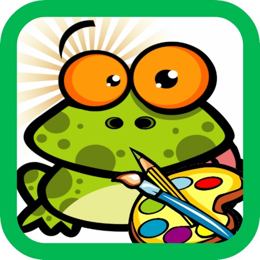 Coloring for Kids 2 - Fun color & paint on drawing game for boys & girls iOS App