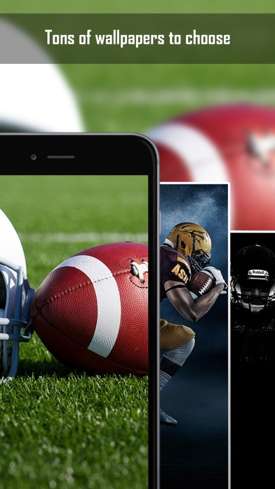 ... Screenshot #4 for American Football Wallpapers & Backgrounds - Home Screen Maker with Sports Pictures ...
