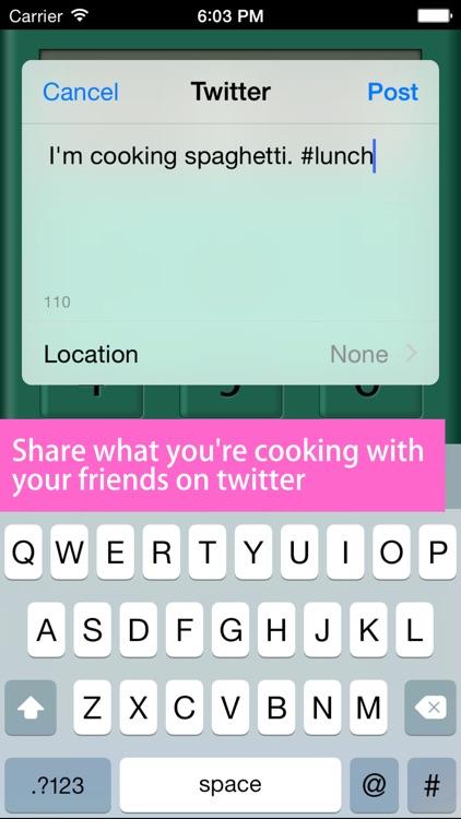 Kitchen Timer+ screenshot-4