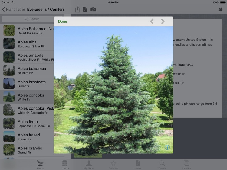 Landscaper's Companion for iPad