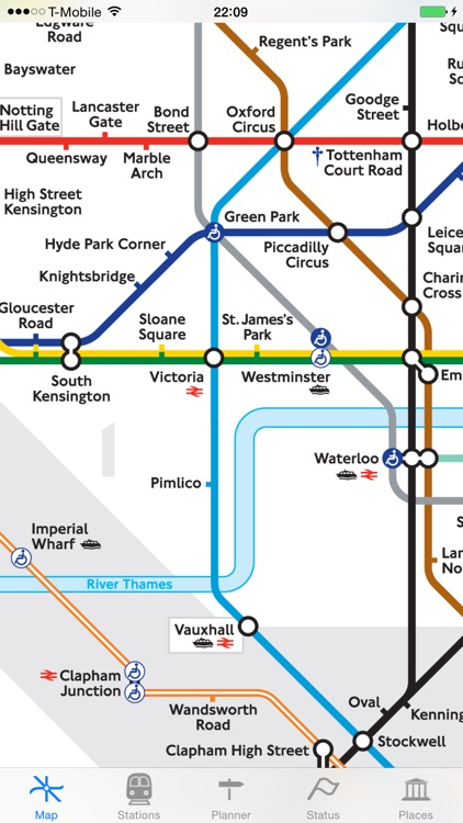 London Tube Map and Guide - Live underground line status and departure info