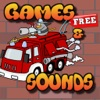 Firetruck Games for Kids- Sounds and Puzzles for Toddlers