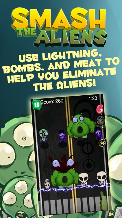 Smash the Aliens: Earth Invasion screenshot-1