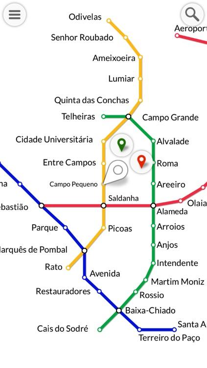 METRO : Lisbon