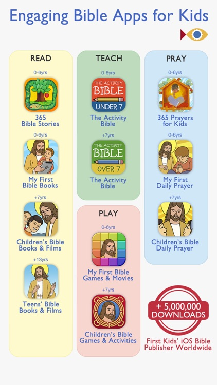 365 Bible Stories PREMIUM – A daily illustrated Bible short story for your Kid, Christian Family, Church and Sunday School screenshot-4