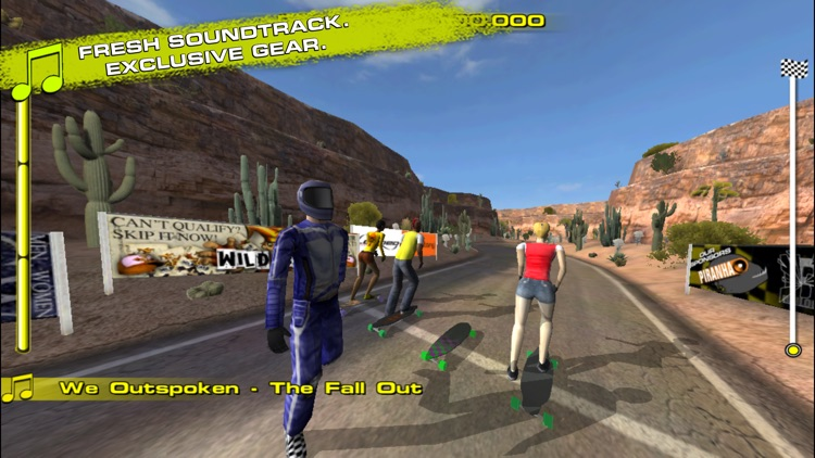 Downhill Xtreme screenshot-2