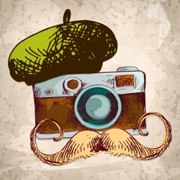 A Hipster Guy Photo Booth FREE - The Cool Effects Stickers for your Pictures