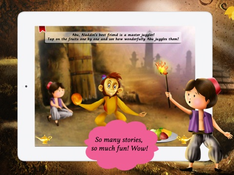 Aladdin and the Magical Lamp for children by Story Time screenshot 3