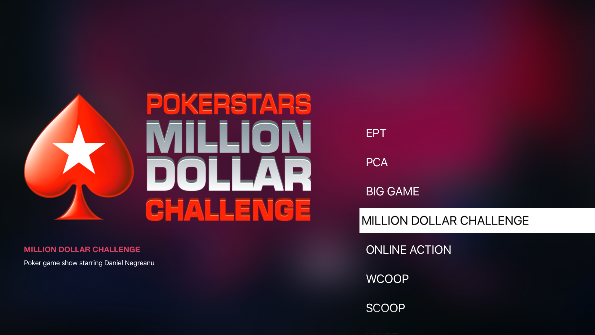 PokerStars TV screenshot 9