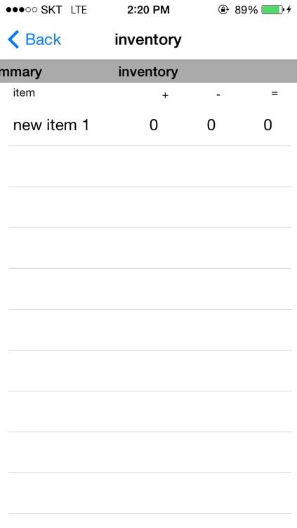 Simple Inventory Management screenshot-4