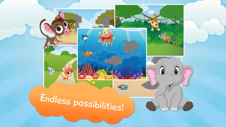 Kids Animal Puzzle - Free