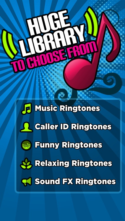 1500 Free Ringtones! - Music, Sound Effects, Funny alerts and caller ID tones screenshot-3