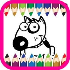 Animales Dibujos Animados Para Colorear Libro Para Niños 4 En App Store