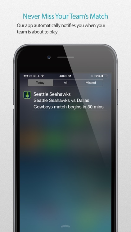 Seattle Football Alarm Pro screenshot-1