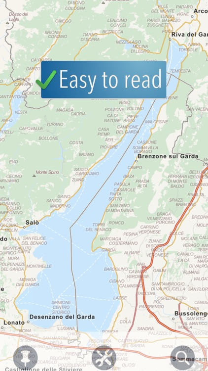 Lake Garda Travelmapp