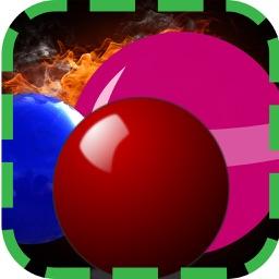 Color ball blast