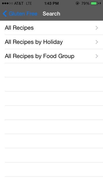 Gluten Free Recipes Cookbook Holiday Diets