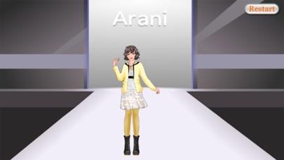 Luck Star DressUp Game - Fashion Mania screenshot three