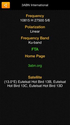 Satellite Transponders on the App Store
