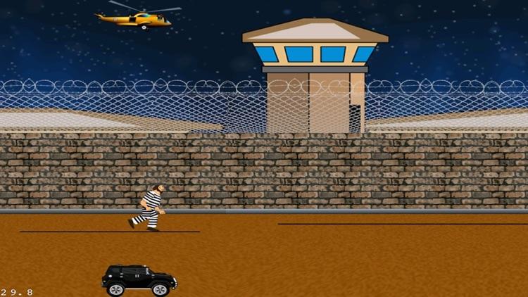 A Prisoner On The Run Classic Arcade Challenge Runner Free
