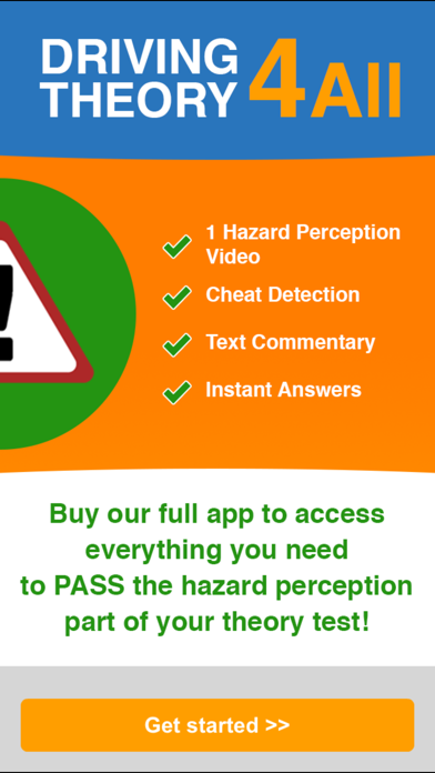 Driving Theory 4 All - Hazard Perception Videos Vol 1 for UK
