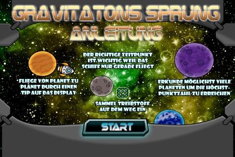 Gravitations Sprung Von Planet Zu Planet - náhled