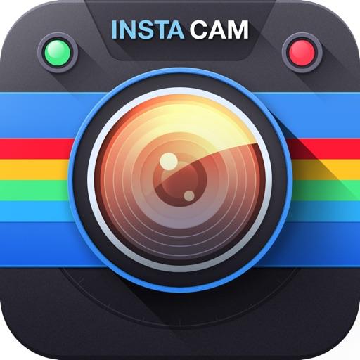 InstaCam-Редактор изображения,рамки, изменение картинок при помощи эффектов, приложение для обмена фотографиями с Flickr,Instagram,Tumblr,Вконтакте,Twitter