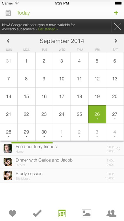 Avocado - Chat For Couples screenshot-3