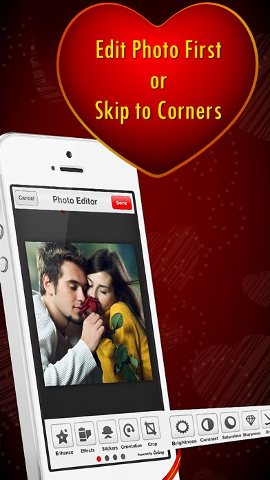 Corner My Photos - Valentines Edition - Add beautiful romantic and heartfelt photo corners to your pictures-2