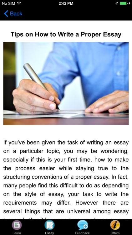 tips on how to write an essay Don't sweat the sat essay our five sat essay tips will help you earn a great sat writing score.
