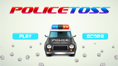 Police Toss - Elite Target Shot screenshot one