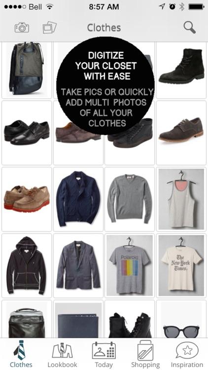 Mod Man - Closet Organizer, Lookbook, and Style Shopping App for Men