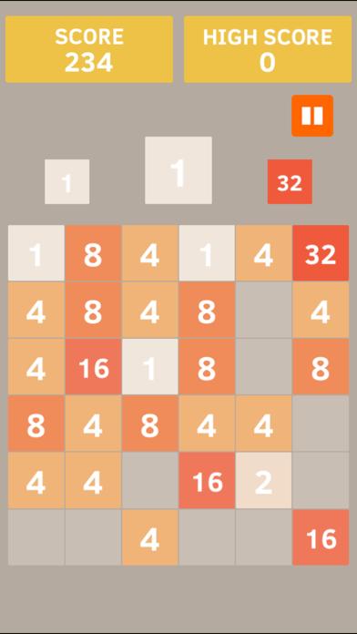 Double 2048 screenshot one