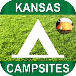Kansas-CampGrounds with GPS & Route Finder