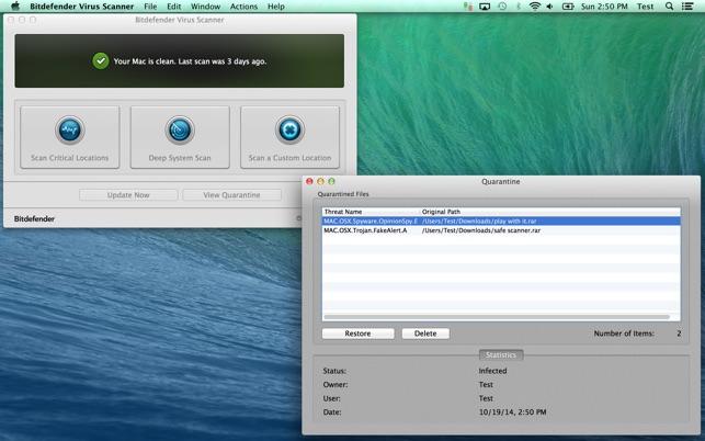 free virus control for mac