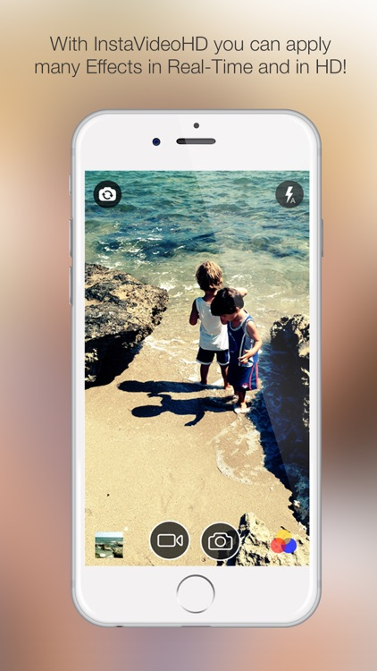 InstaVideoHD - Realtime filter effects for your videos & photos
