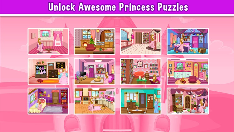 A Princess Hollywood Hidden Object Puzzle - can u escape in a rising pics game for teenage girl stars screenshot-3
