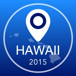 Hawaii Offline Map + City Guide Navigator, Attractions and Transports