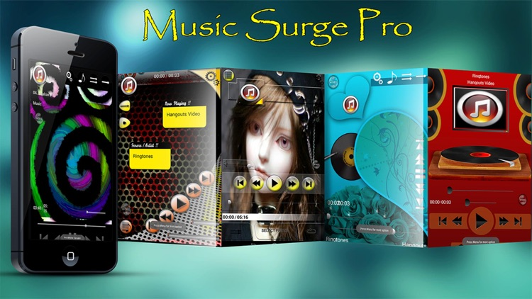 Music Skins For iPod - Music Surge screenshot-0