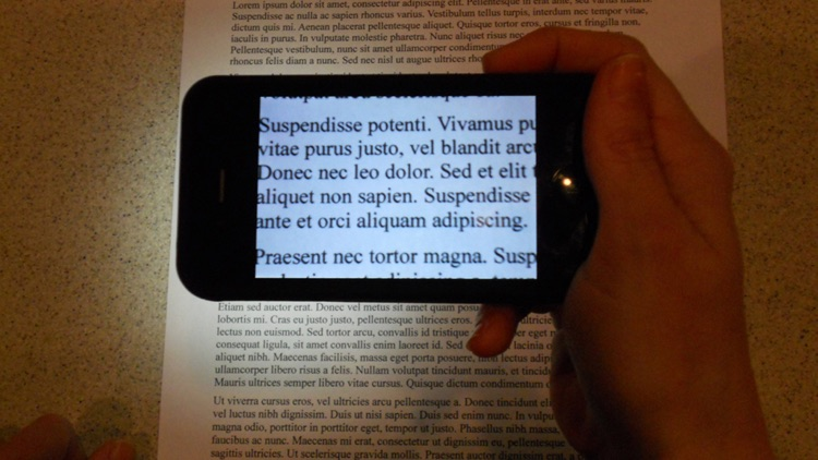 See It - Video Magnifier