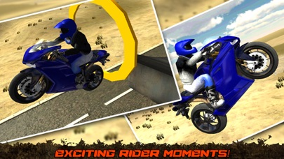 Crazy Motorcycle Stunt Ride simulator 3D – Perform Extreme Driver Stunts with Motor Bike on Dirt-0