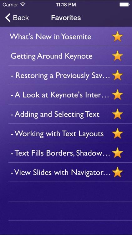 Tutor for Keynote for OS X screenshot-4
