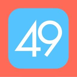 49 tiles
