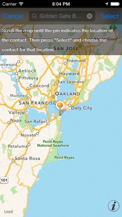 Map Contacts Free screenshot-2