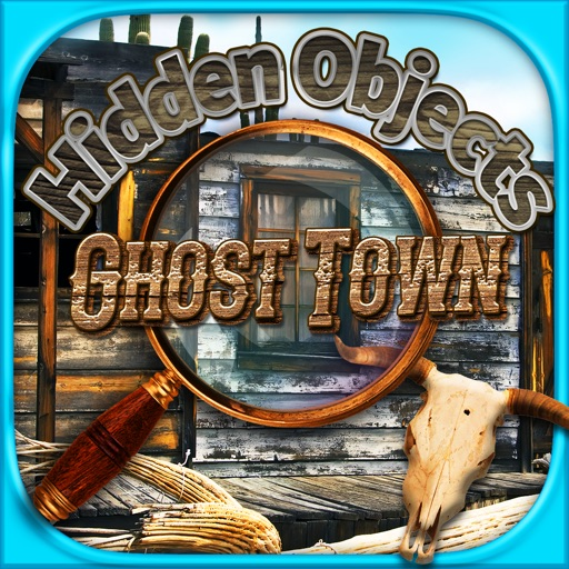 Haunted Ghost Town Hidden Objects - Object Time Puzzle Photo Games