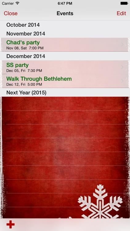 My Christmas List screenshot-3